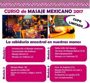 temario masaje mexicano 2017