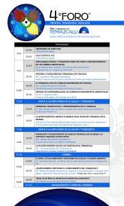 Ponencias Congreso de Temazcal MTM